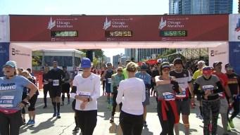 2019 Bank of America Chicago Marathon Finish Line Cam 16