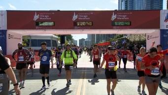 2019 Bank of America Chicago Marathon Finish Line Cam18