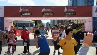 2019 Bank of America Chicago Marathon Finish Line Cam 19