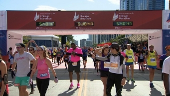 2019 Bank of America Chicago Marathon Finish Line Cam 20
