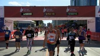 2019 Bank of America Chicago Marathon Finish Line Cam 21