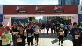 2019 Bank of America Chicago Marathon Finish Line Cam 22