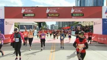 2019 Bank of America Chicago Marathon Finish Line Cam 24