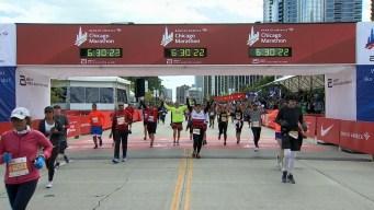2019 Bank of America Chicago Marathon Finish Line Cam 25