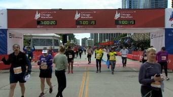 2019 Bank of America Chicago Marathon Finish Line Cam 28