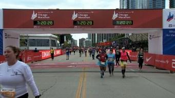 2019 Bank of America Chicago Marathon Finish Line Cam 30