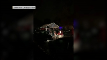 Video Shows Hilarious Solution to Trick-or-Treating in the Rain