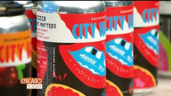 Taste-Test: Chicago's First Locally Crafted Hard Seltzer, City Water