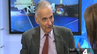 Ralph Nader Defends So-Called 'Spoiler' Candidates