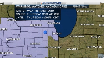 Winter Weather Advisory Issued for Several Counties