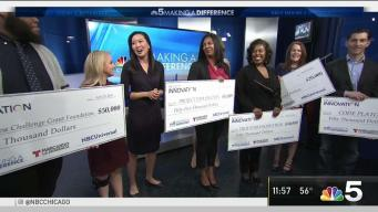 Winners of Grant Challenge Receive Big Checks