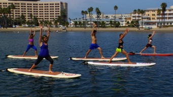 The Ocean Is Your Yoga Mat at YogAqua