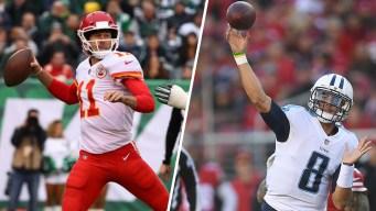 Chiefs, Titans Meet to End Years of Postseason Futility