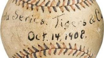 Collectible From 1908 Cubs Title Up for Auction