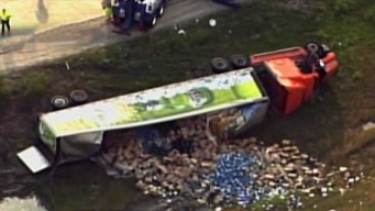Beer Truck Tragedy Spills Into Morning Commute