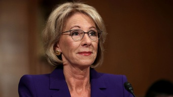 Education Secretary Pushes School Choice, Gives No Specifics