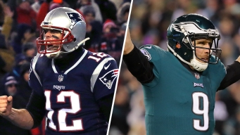 Showdowns Set: Jags-Patriots in AFC, Vikings-Eagles in NFC