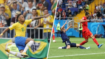 World Cup: Brazil, Belgium Earn Victories