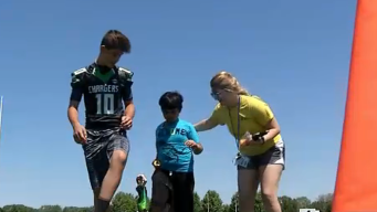 Tri City Football Association Hosts 9th Annual Camp For Kids With Autism