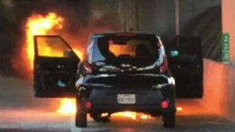 Chicago Driver Recounts When KIA Burst Into Flames