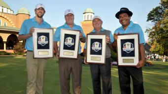 Phelps, Lopez Win Celebrity Scramble