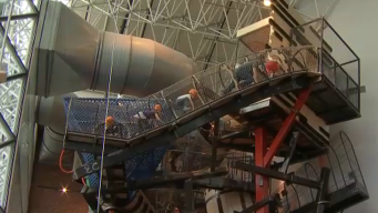 """New """"Cloud Buster' Attraction Opens at Navy Pier"""