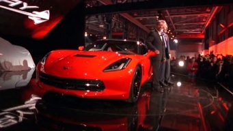 GM Shows Off Stylish New Corvette