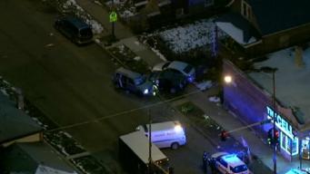 1 Killed, 3 Injured in Shooting, Crash in Englewood