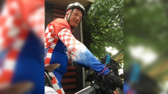 Croatia Fans Cycle All the Way to Russia for World Cup