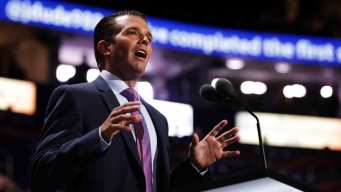 Donald Trump Jr. Becomes Flashpoint in Father's Campaign