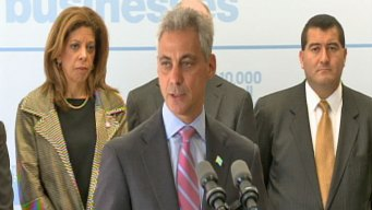 Rahm, Goldman Sachs Team Up to Help Small Biz