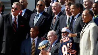 '85 Bears Honored at White House