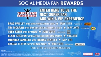 EXPIRED: Win a Country Ticket Bundle and Become the Next Super Fan