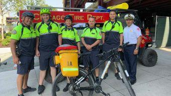 Meet Chicago's Paramedics On Bikes