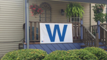 Woman Gets Angry Letter From Neighbors Over Cubs 'W' Flag