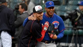 Cubs, Indians Show 'Serious' Class on Twitter Before Game 1