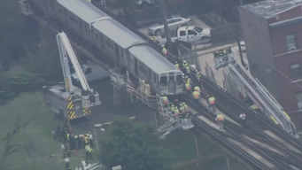 Video From Inside Train Shows Green Line Derailment