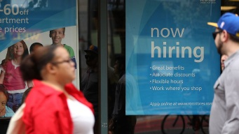 US Gains 209K Jobs, Unemployment Rate Down to 4.3 Pct.