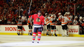 Hossa's 500th Goal Helps Blackhawks Beat Flyers
