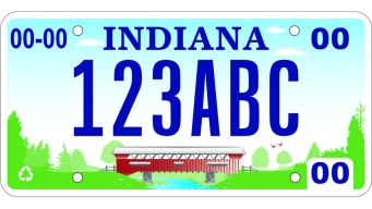 Indiana Unveils New License Plate Design