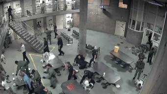 Jail Fight Video Released After 8 Inmates, 2 Officers Hurt