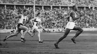 Golden Moment: Jesse Owens Shines in Hitler's Germany