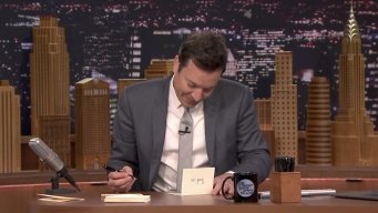 'Tonight Show' Thank You Notes