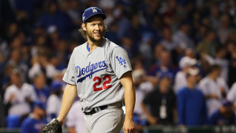 Dodgers' Kershaw Makes History in Shutout Win Over Cubs