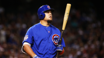 Schwarber Included on Cubs' World Series Roster