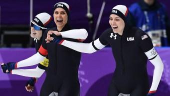 US Wins First Long Track Speedskating Medal Since 2010