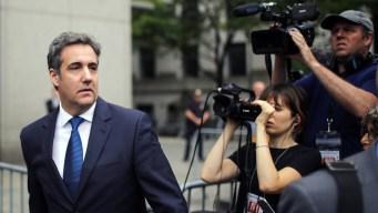 Prosecutors Preparing Charges Against Michael Cohen: Sources