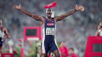 Golden Moment: Michael Johnson's Double Gold