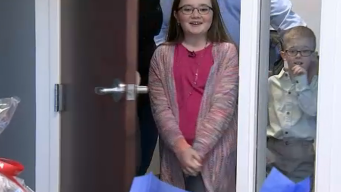 'Make A Wish' Granted to Surprised 11-Year-Old Missouri Girl