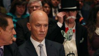 Monopoly Man Photobombs the Senate's Equifax Hearing